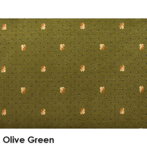 Lucerne Dot Woven Classics Collection Olive Green