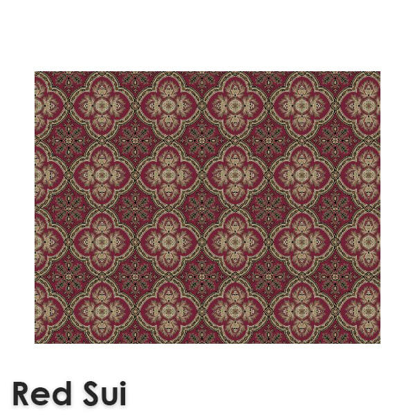 Dynasty Traditional Woven RadianceCollection Red Sui