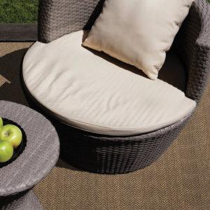 Luxurious Tunisia Chevron Pattern Indoor/Outdoor Wear Ever Collection Sahara Room