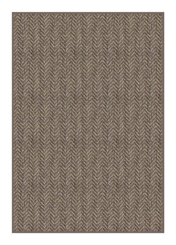 Luxurious Tunisia Chevron Pattern Indoor/Outdoor Wear Ever Collection Sakka Rug