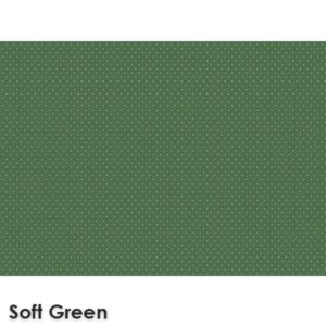 Pin Dot Woven Classics Collection Soft Green