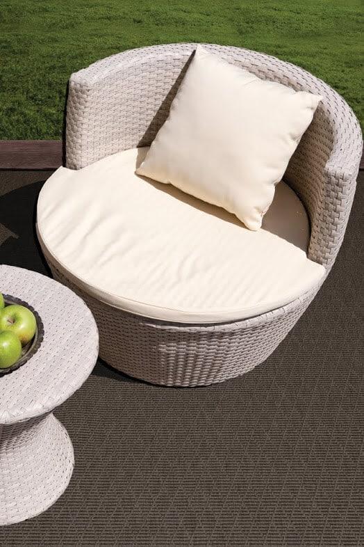 Luxurious Kasbah Diamond Pattern Indoor/Outdoor Wear Ever Collection Tortoise Room