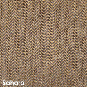 Luxurious Tunisia Chevron Pattern Indoor/Outdoor Wear Ever Collection Sahara
