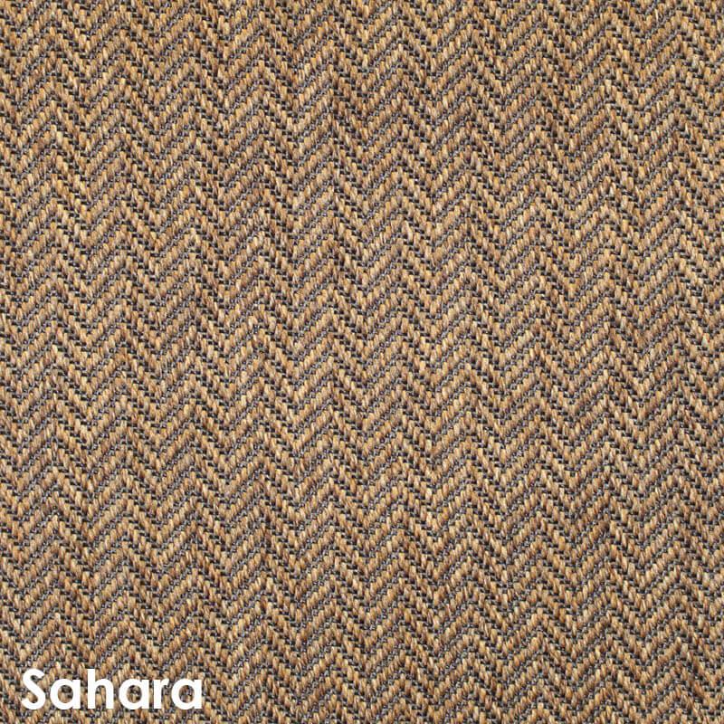 Luxurious Tunisia Chevron Pattern Indoor/Outdoor Wear Ever Collection Sahara