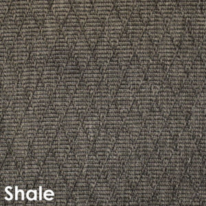 Luxurious Kasbah Diamond Pattern Indoor/Outdoor Wear Ever Collection Shale