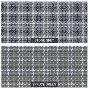 Castle Hill Custom Cut Indoor Outdoor Plaid Area Rug Collection - 2 Colors Availabel