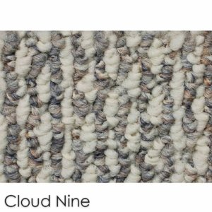 Starlight Level Berber Loop Indoor Area Rug Carpet Collection Cloud Nine