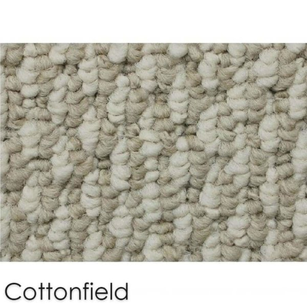 Starlight Level Berber Loop Indoor Area Rug Carpet Collection Cottonfield