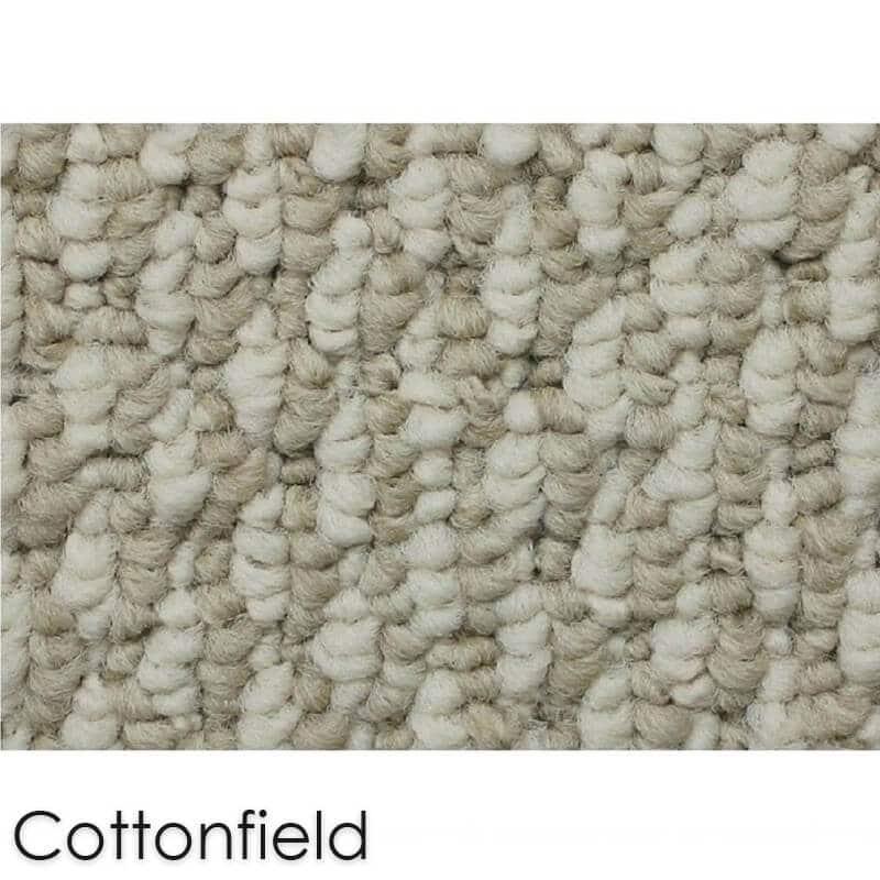 Starlight Level Berber Loop Indoor Area Rug Carpet Collection Cottonfield