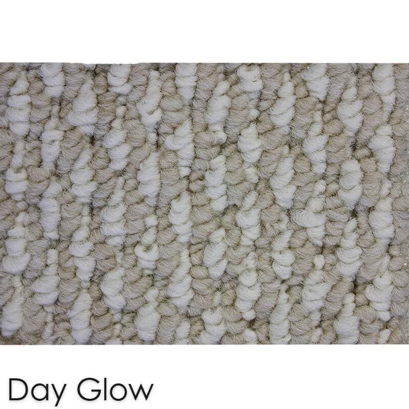 Starlight Level Berber Loop Indoor Area Rug Carpet Collection Day Glow