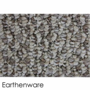 Starlight Level Berber Loop Indoor Area Rug Carpet Collection Earthenware