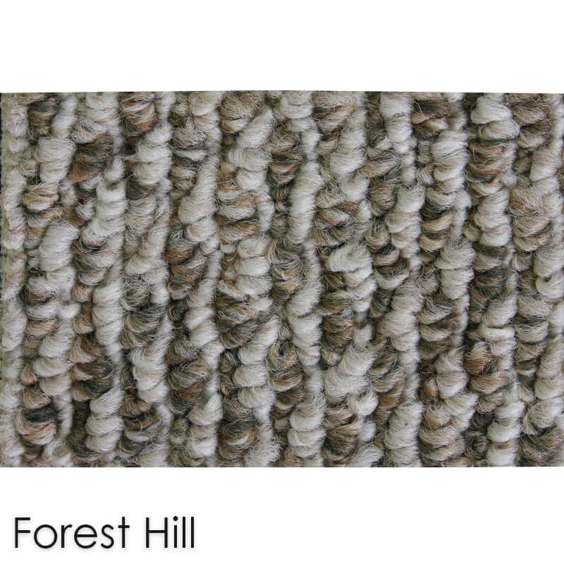 Starlight Level Berber Loop Indoor Area Rug Carpet Collection Forest Hill