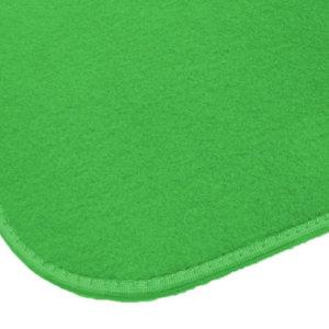 Irish Spring Green Indoor-Outdoor Durable Soft Area Rug Carpet corner