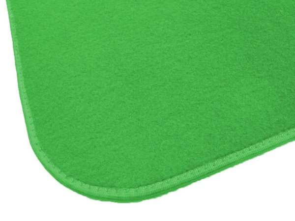 Irish Spring Green Indoor-Outdoor Durable Soft Area Rug Carpet corner