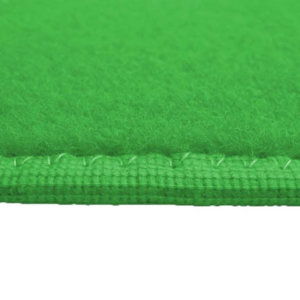 Irish Spring Green Indoor-Outdoor Durable Soft Area Rug Carpet Side