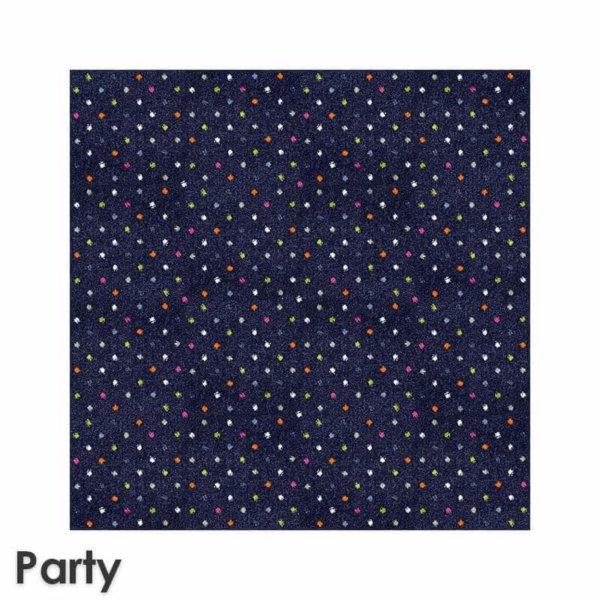 Joy Polka Dot Pattern Luxury Area Rug Festival Collection Party