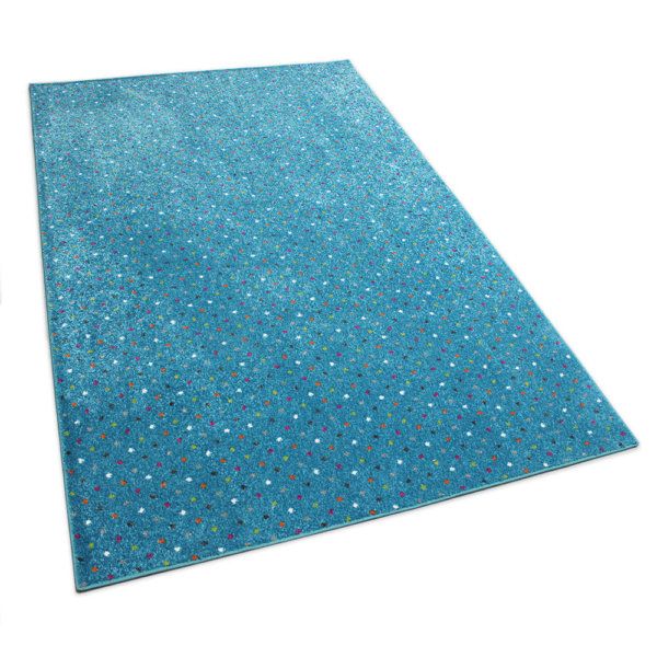 Joy Polka Dot Pattern Luxury Area Rug Festival Collection Gala Rug
