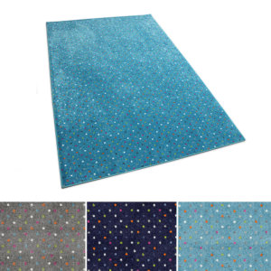 Joy Polka Dot Pattern Luxury Area Rug Festival Collection