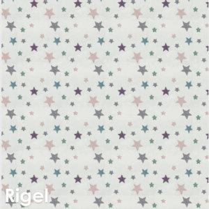 Kids Celebration Star Pattern Luxury Area Rug Festival Collection Rigel