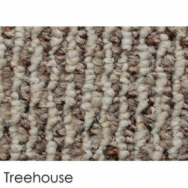 Starlight Level Berber Loop Indoor Area Rug Carpet Collection Treehouse