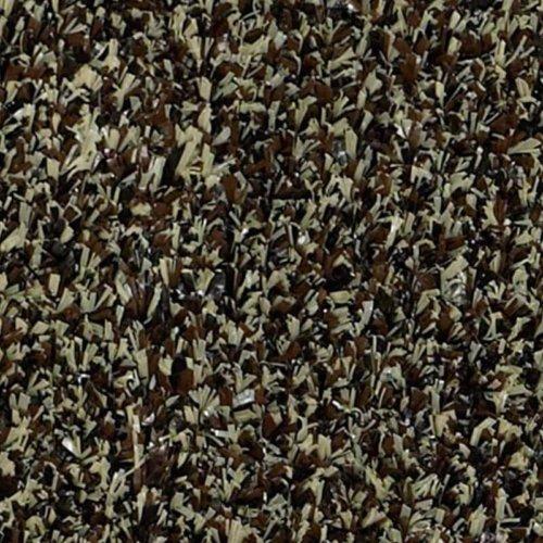 Walnut Shell Indoor-Outdoor Artificial Grass Turf Area Rug Carpet