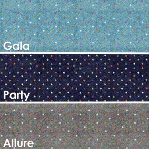 Joy Polka Dot Pattern Luxury Area Rug Festival Collection