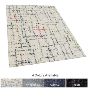 Jubilee Pattern Luxury Area Rug Festival Collection