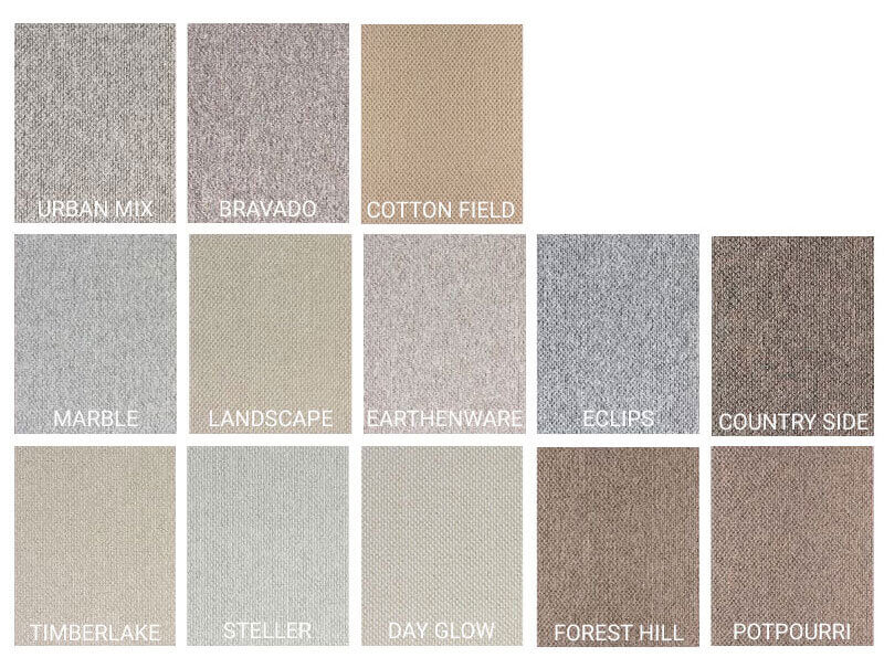 Starlight Level Berber Loop Indoor Area Rug Carpet Collection - 14 Colors Available