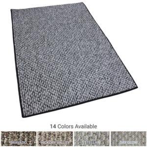 Starlight Level Berber Loop Indoor Area Rug Carpet Collection