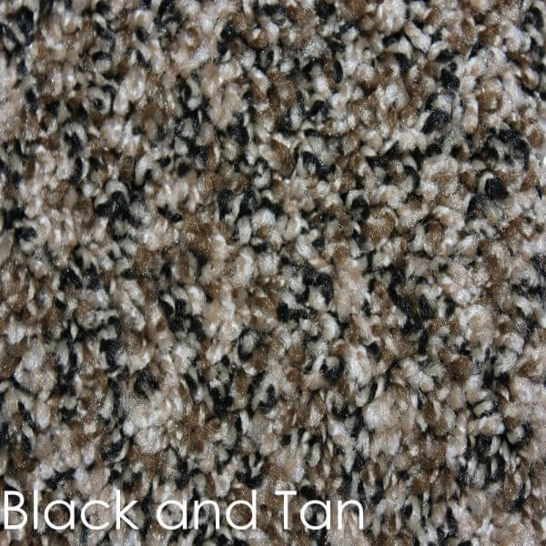 Toast of the Town Frieze Stair Treads DOG ASSIST Carpet Black & Tan