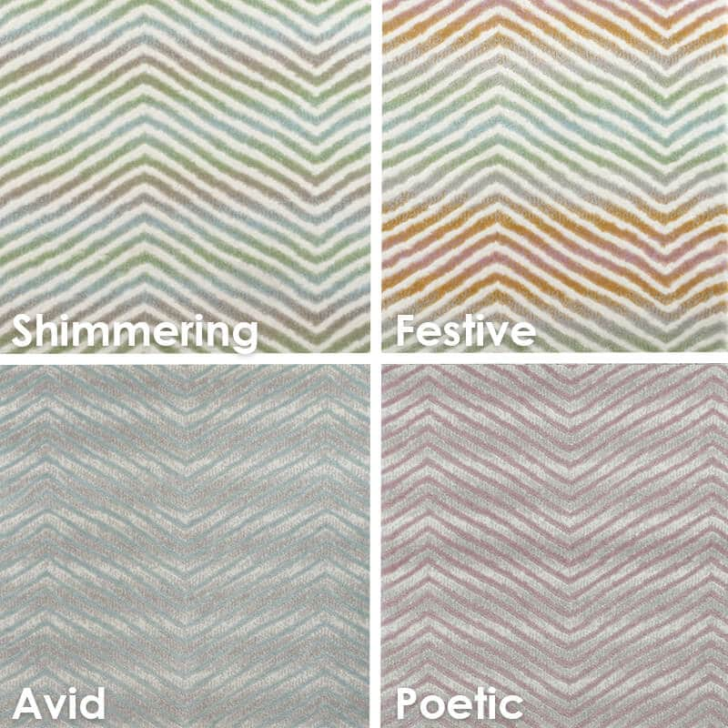 Biscayne Chevron Pattern Luxury Area Rug Festival Collection