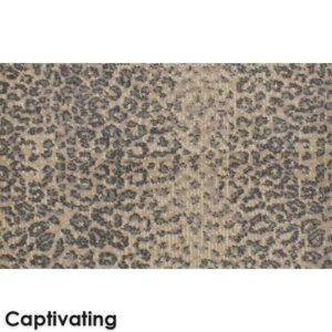 El Venado Animal Print Area Rug Upscale Luxury Collection Captivating