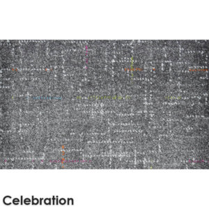 Jubilee Pattern Luxury Area Rug Festival Collection Celebration