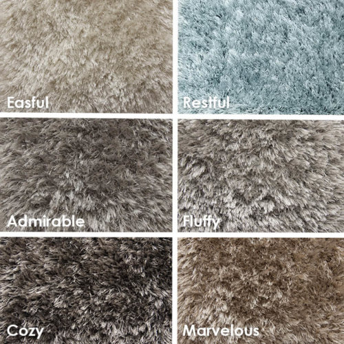 Exceptional Ultra Soft Area Rug Shagtacular Collection
