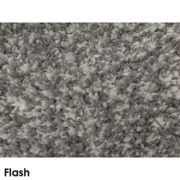 Glitz Ultra Soft Area Rug Shagtacular Collection Flash