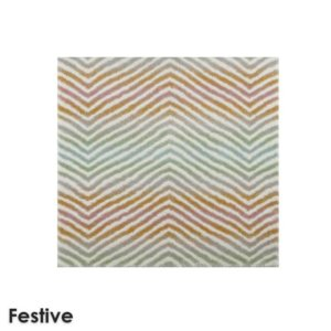 Biscayne Chevron Pattern Luxury Area Rug Festival Collection Festive