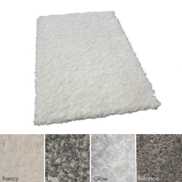 Glitzy Ultra Soft Area Rug Shagtacular Collection