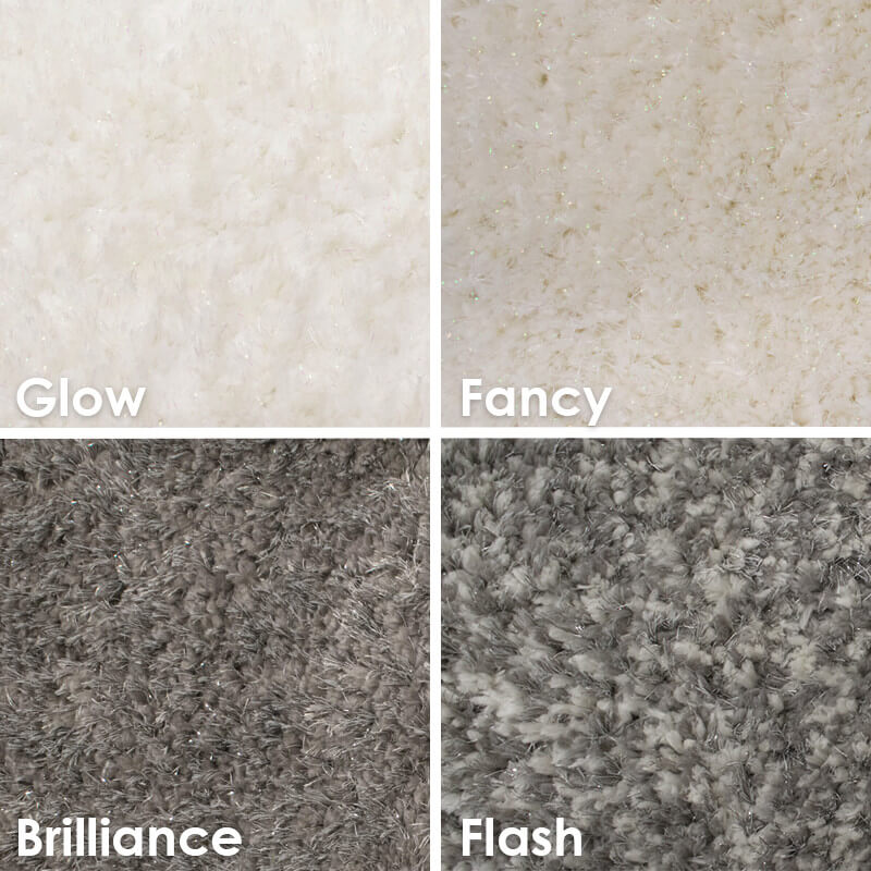 Glitz Ultra Soft Area Rug Shagtacular Collection