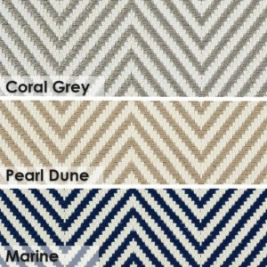 Hatteras Island Custom Cut Indoor Outdoor Woven Chevron Collection