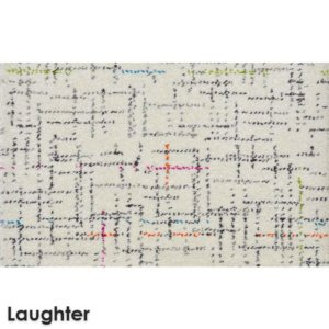 Jubilee Pattern Luxury Area Rug Festival Collection Laughter