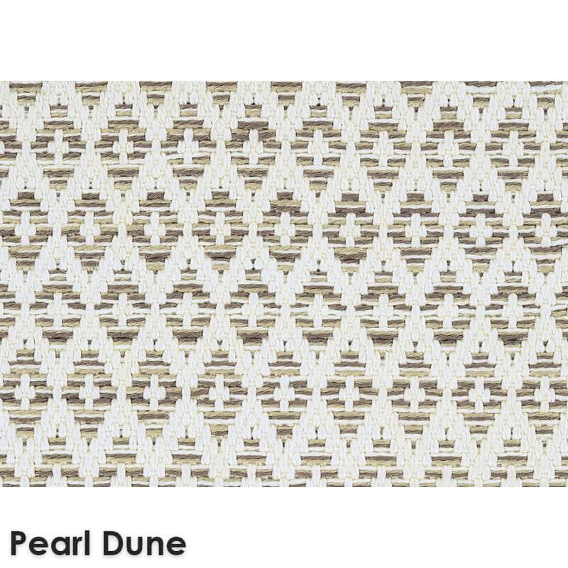Sullivan's Island Custom Cut Indoor Outdoor Woven Collection Pearl Dune