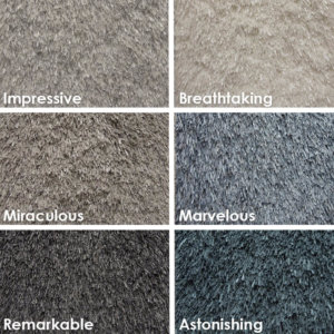 Spectacular Ultra Soft Area Rug Shagtacular Collection