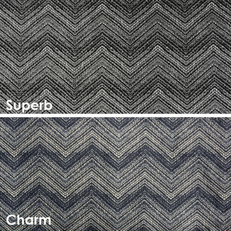 Wow Chevron Pattern Luxury Area Rug Festival Collection
