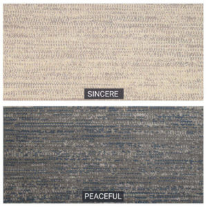 Harmonious Area Rug Upscale Luxury Collection - 2 Colors Available