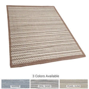 Pawley's Island Custom Cut Indoor Outdoor Area Rug Collection