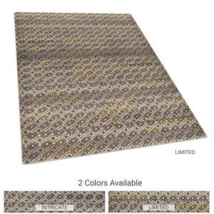 Unique Diamond Pattern Area Rug Upscale Luxury Collection