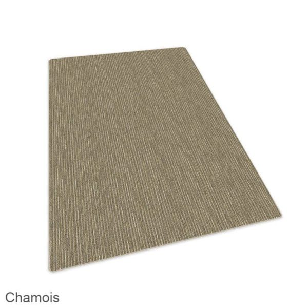 Milliken Basis Lineal Pattern Indoor Area Rug Collection Chamois