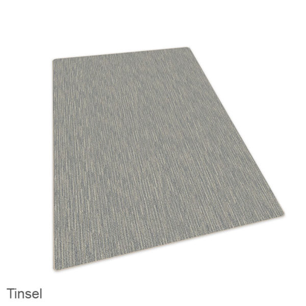 Milliken Basis Lineal Pattern Indoor Area Rug Collection Tinsel