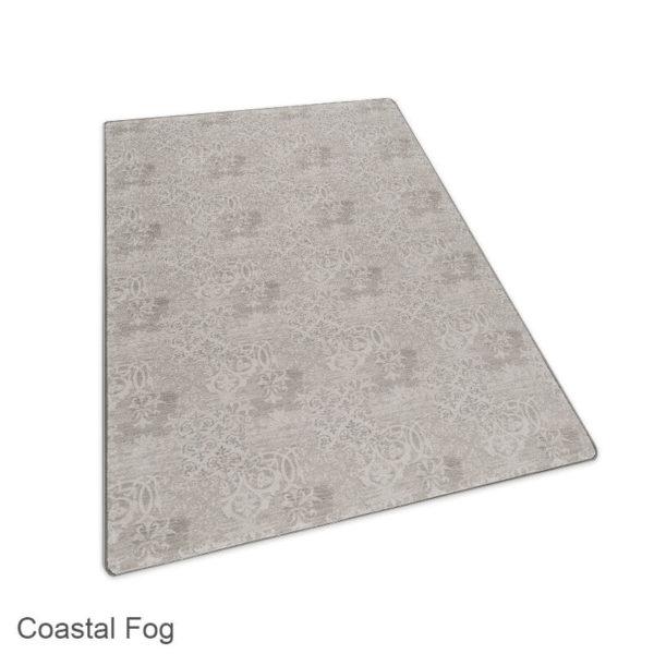 Milliken Fresco Pattern Indoor Area Rug Collection Coastal Fog