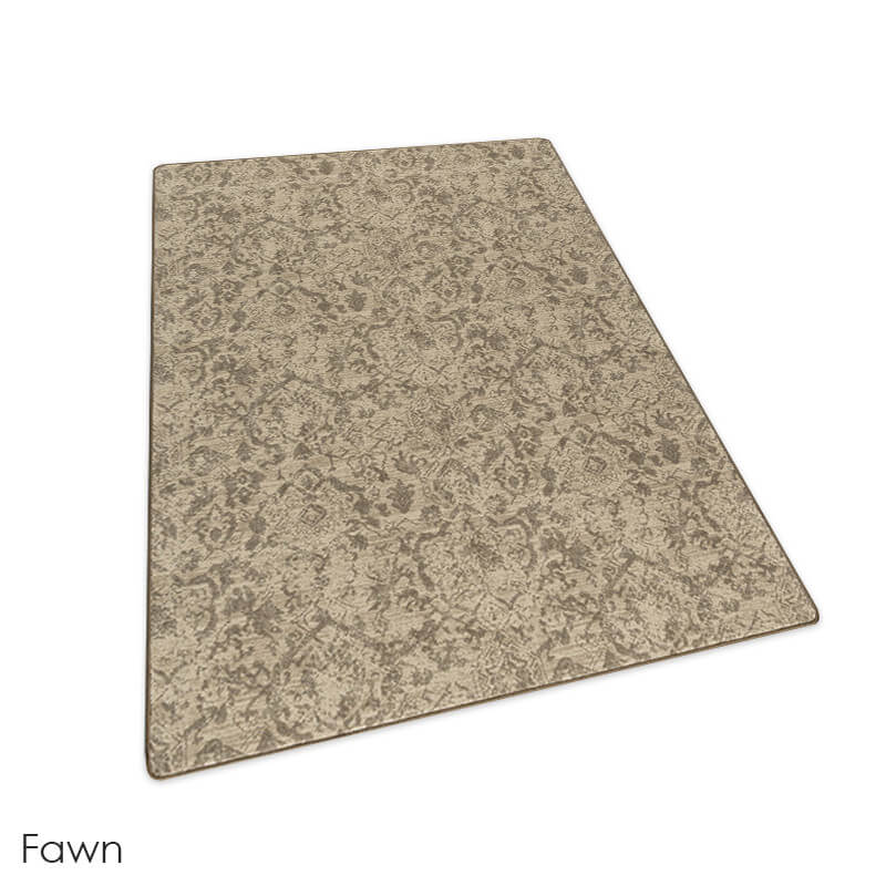 Milliken Past Modern Indoor Area Rug Collection Fawn